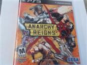 ANARCHY REIGNS PS3 GAME